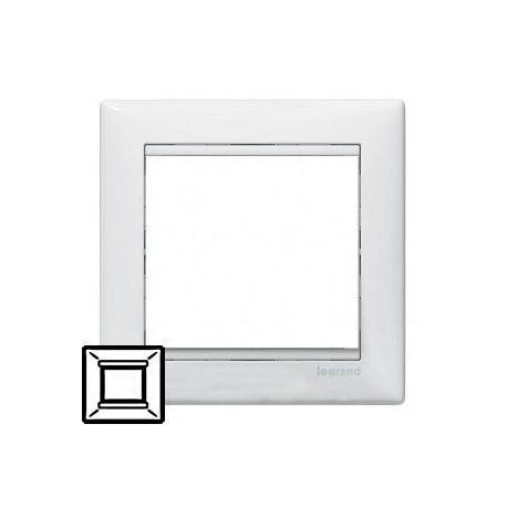 Рамка Legrand 1 пост белый Valena 774451