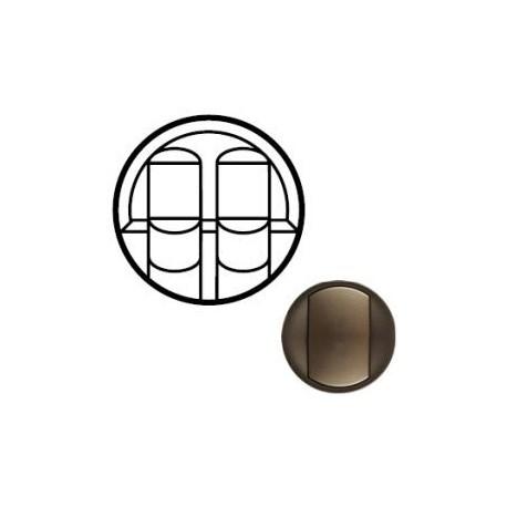 Лицьова панель розетки 2хRJ45, колір графіт, Celiane, Legrand