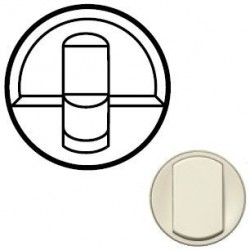 Лицевая панель механизма розетки RJ45, цвет слоновая кость, Celiane 66235