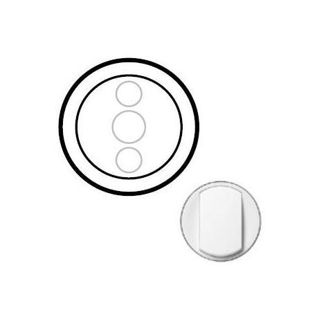 Лицьова панель діммера сенсорного, колір білий, Celiane, Legrand