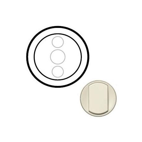 Лицевая панель механизма диммера сенсорного, цвет слоновая кость, Celiane 66285