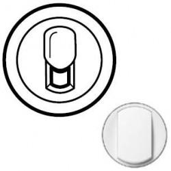 Лицьова панель розетки RJ11, колір білий, Celiane, Legrand