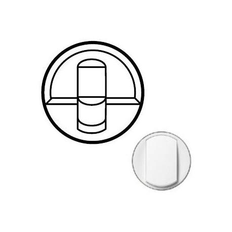 Лицьова панель розетки RJ45, колір білий, Celiane, Legrand
