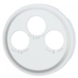Лицевая панель механизма розетки TV/FM/SAT, цвет белый, Celiane 68285