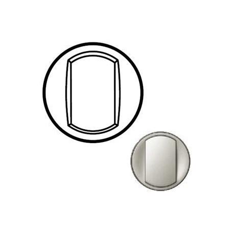 Лицевая панель механизма выключателя 1-кл., цвет титан, Celiane 68301