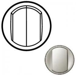 Лицевая панель механизма выключателя 2-кл., цвет титан, Celiane 68302