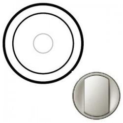 Лицевая панель механизма выключателя сенсорного, цвет титан, Celiane 68341