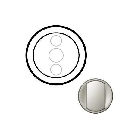 Лицевая панель механизма диммера сенсорного, цвет титан, Celiane 68343