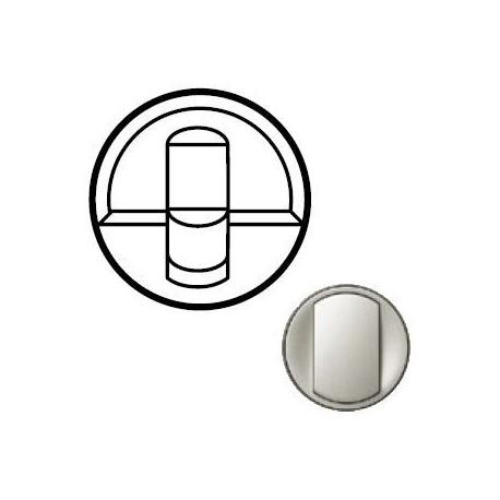 Лицьова панель розетки RJ45, колір титан, Celiane, Legrand