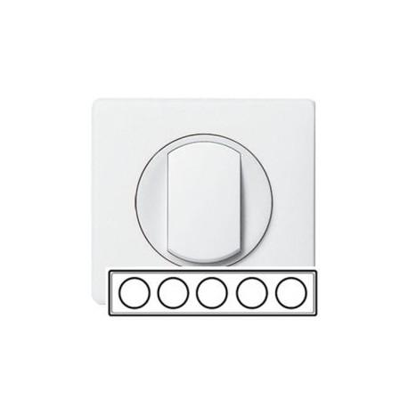 Рамка 5-а, колір білий, Celiane, Legrand