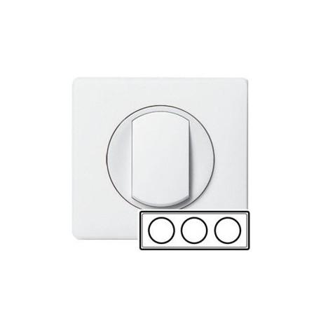 Рамка 3-ная, цвет белый, Celiane 66633