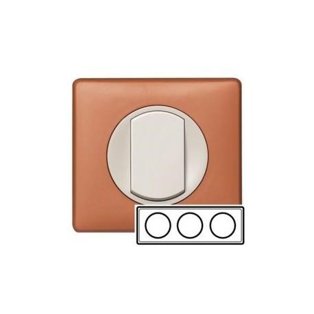 Рамка 3-ная, цвет корица, Celiane 68653